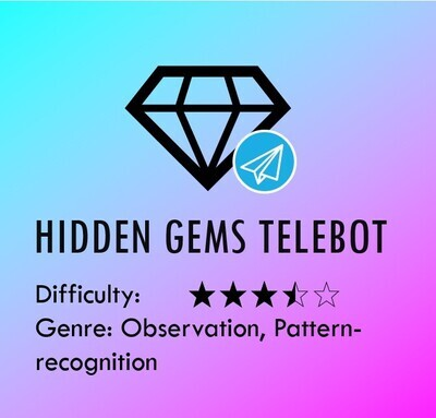 Hidden Gems (Telebot)
