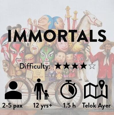 Immortals Trail (COMING SOON!)