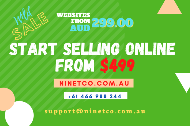 Online store Website+Hosting+E-commerce+Domain* for $499.00