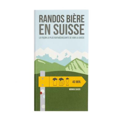 Livre guide - Randos Bières en Suisse