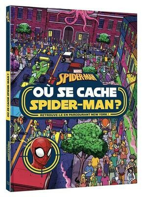 Livre - Où se cache Spider-Man