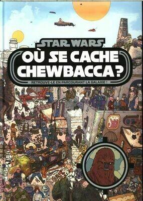 Livre - Où se cache Chewbacca ❤️