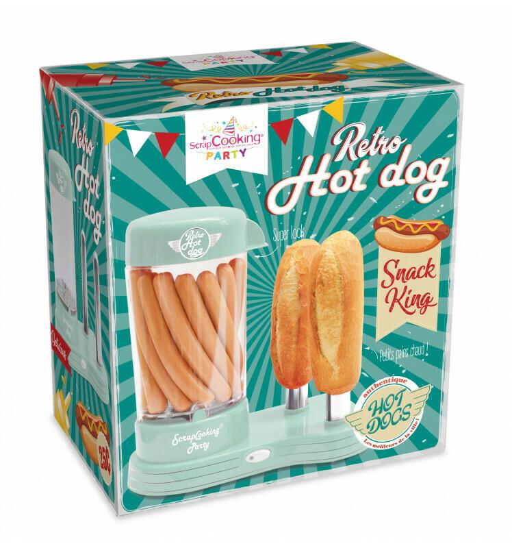Machine à hot-dogs rétro
