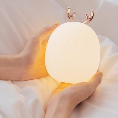 Petite lampe led cerf
