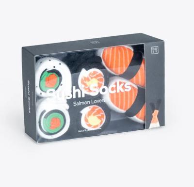 3 paires de chaussettes sushi