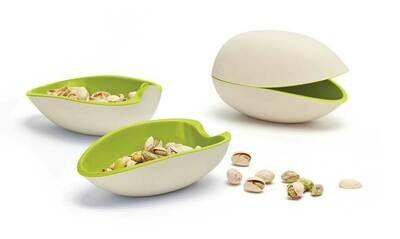 Le bol mélamine en forme de pistache pour l'apéro