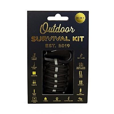 Le kit pour survivre dehors