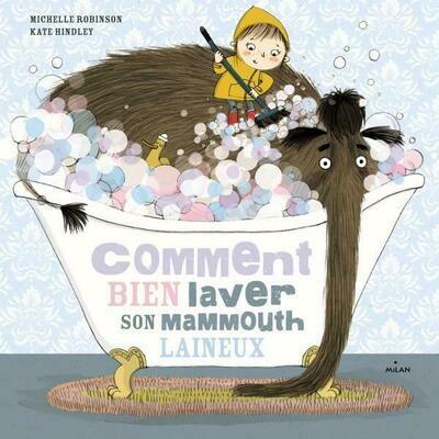 Livre enfant - Comment bien laver son mammouth laineux ? ♥️