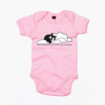 Body bébé Roupillon dans les nuages