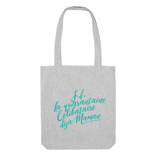 PROMO Tote bag Particules - Jeune Fille, la quarantaine, déjà maman