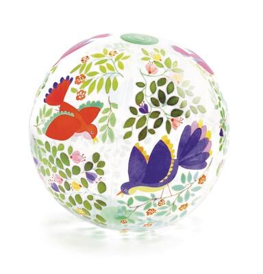 Ballon avec de jolis oiseaux