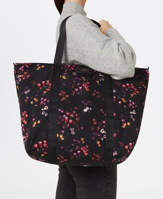 Le sac pour les longs week-end en matière recyclée Tulipes