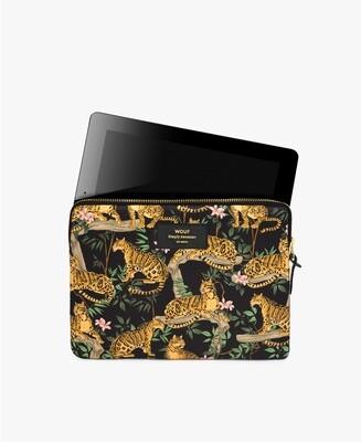 La fourre Ipad Black Lazy Jungle