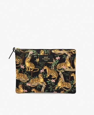 La grande pochette XL Black Lazy Jungle