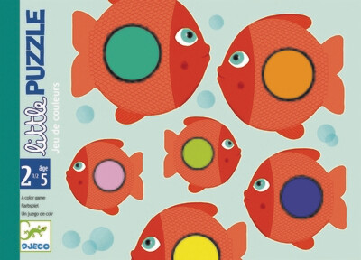 Mon premier Puzzle: Petits poissons
