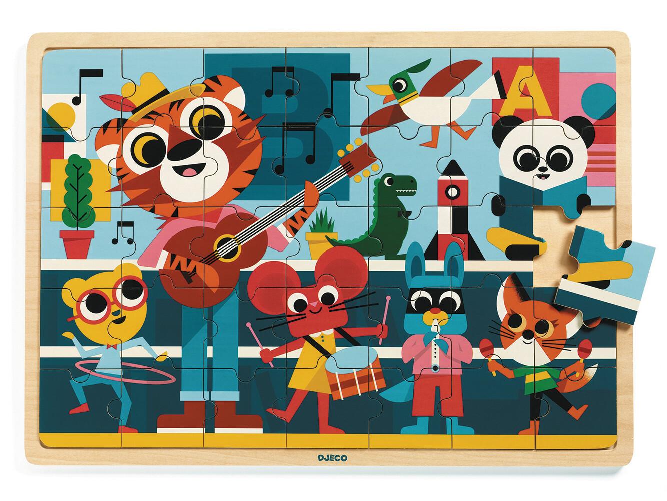 Le puzzle en bois des Musiciens !
