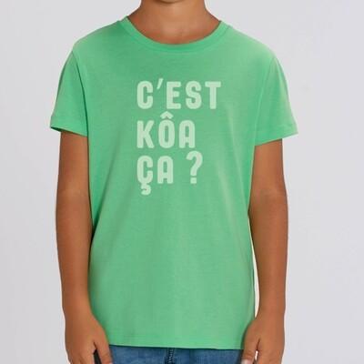 T-Shirt enfant C'est quoi ça ?