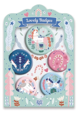 Lovely Badges chevaux