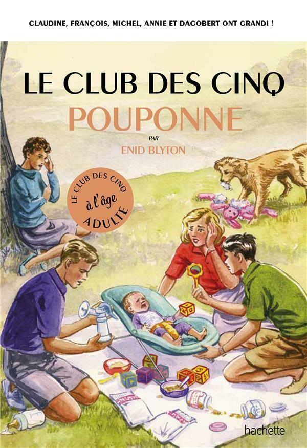 Livre - Le club des 5 pouponne - COUP DE CŒUR PARTICULES
