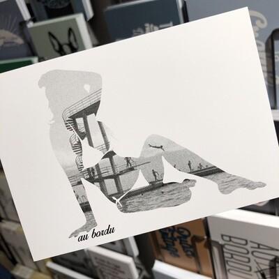 12 cartes postales Au Bord Du - Lausanne Vidy