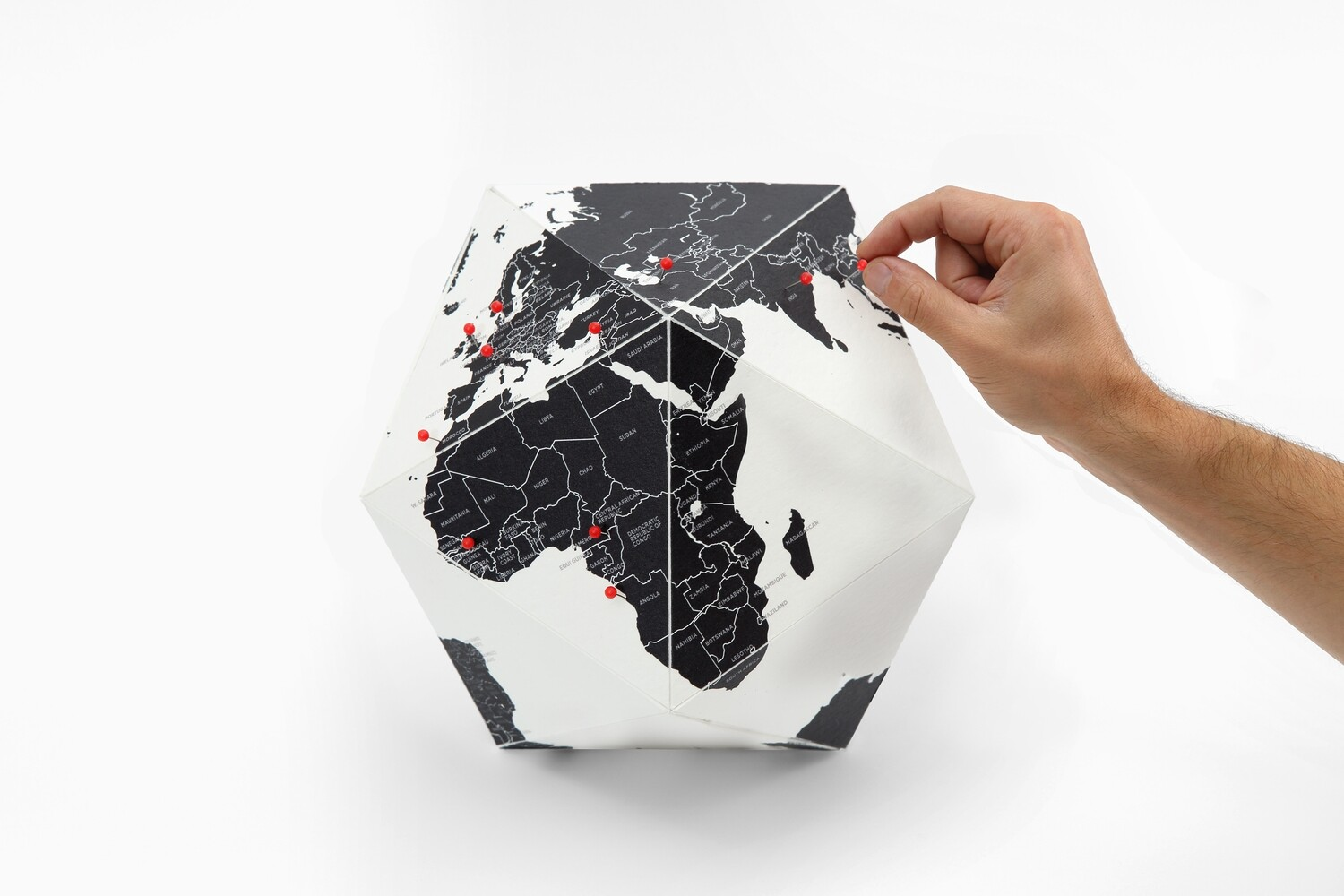 Here - le globe personnel - pays