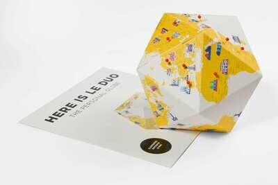 Promo - Here - le globe personnel - par Le Duo