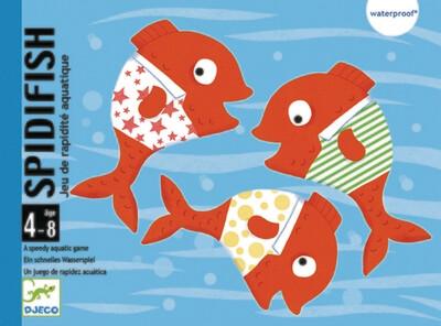 Spidfish: le jeu de cartes waterproof !