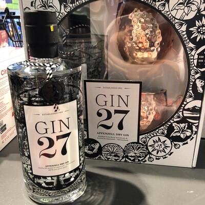 Gin 27 - Set cadeau Appenzell Dry Gin