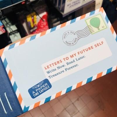 Carnet à remplir Lettres à mon futur moi ♥️ (en anglais !)