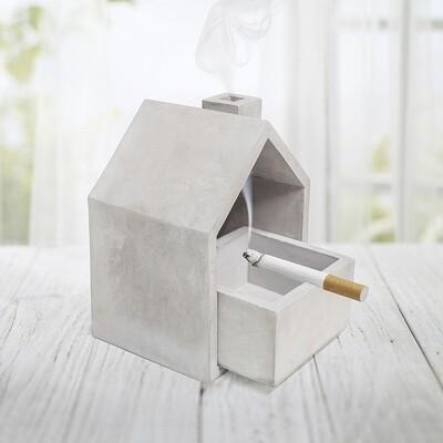 Promo - Le Cendrier béton en forme de maison