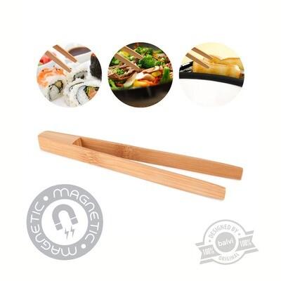 Pince grille-pain Bambou magnétique ❤️
