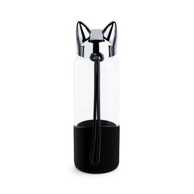 Bouteille chat noire