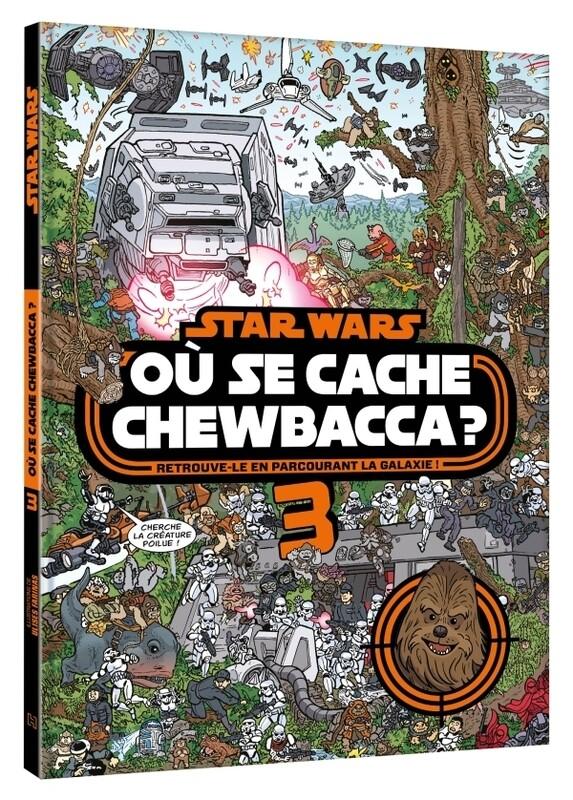 Livre jeu - Où se cache Chewbacca tome 3