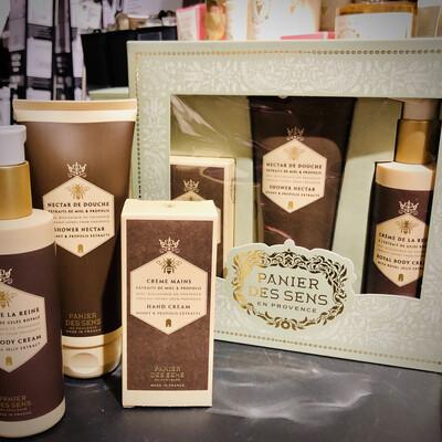 Coffret cosmétiques naturelles au miel