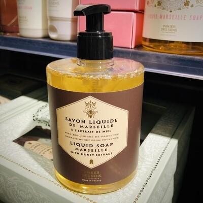 Savon liquide de Marseille au miel