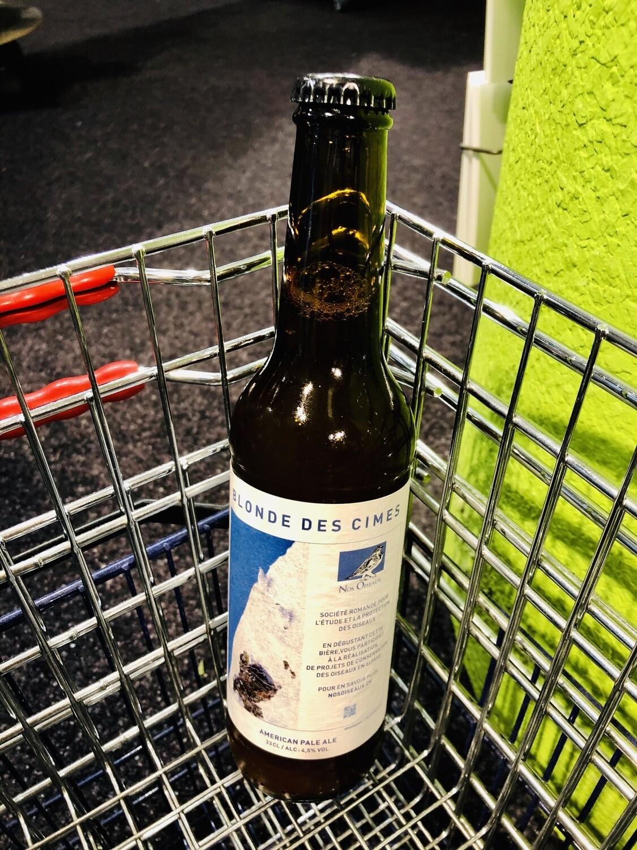La bière lausannoise qui aide les oiseaux !