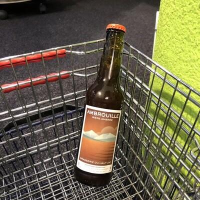 Bière ambrée Ambrouille 6.5%-Brasserie du Haut Lac-33cl