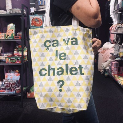 Tote Bag CullyCully ça va le chalet ?