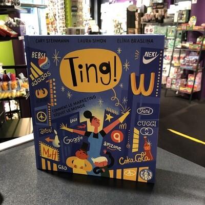 TING ! Le livre qui explique la publicité aux enfants
