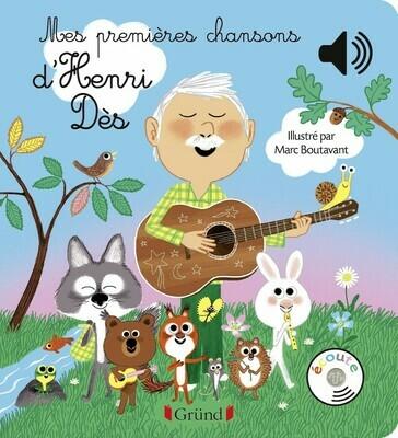 Livre enfant - Mes premières chansons d'Henri Dès ❤️