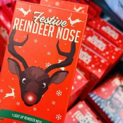 Nez rouge de Noël pour être la Renne du 24 décembre !