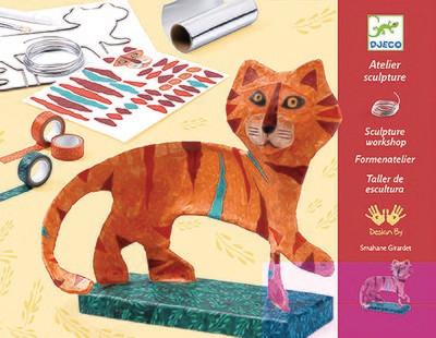 PROMO - Jeu créatif - Atelier sculpture le tigre