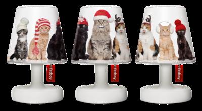3 mini Abat-jour pour le trio mini Edison de Fatboy  - collection Noël