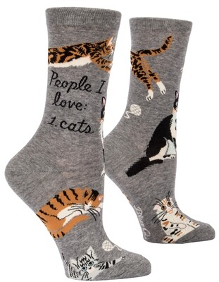 Chaussettes femmes People I Love: Cats