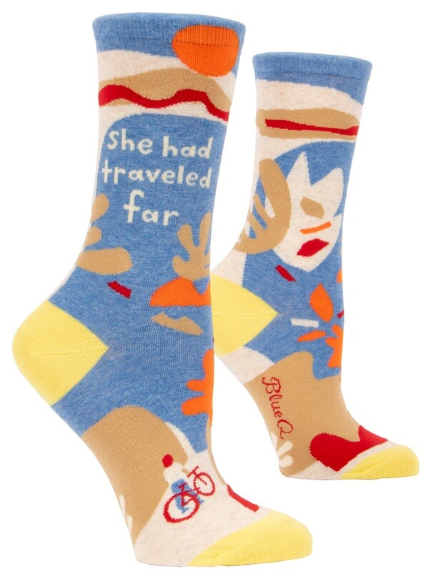 Chaussettes femme She Had Traveled Far