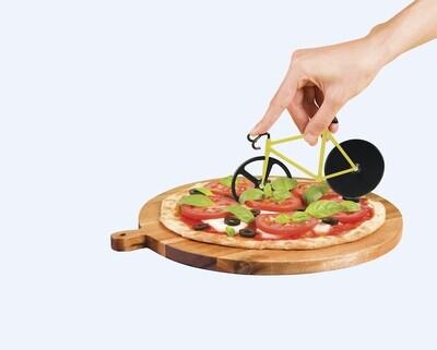 Le vélo découpe Pizza Fixie jaune & noir ♥️