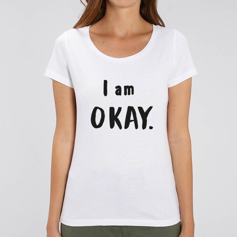 T-Shirt Particules Femme - I am Okay ♥️