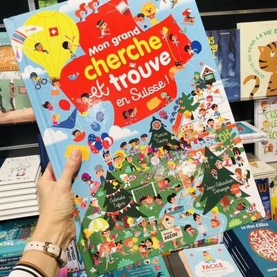 Livre enfant - Mon GRAND cherche et trouve en Suisse