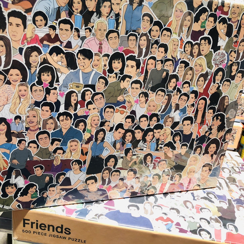 Puzzle de le série Friends ♥️