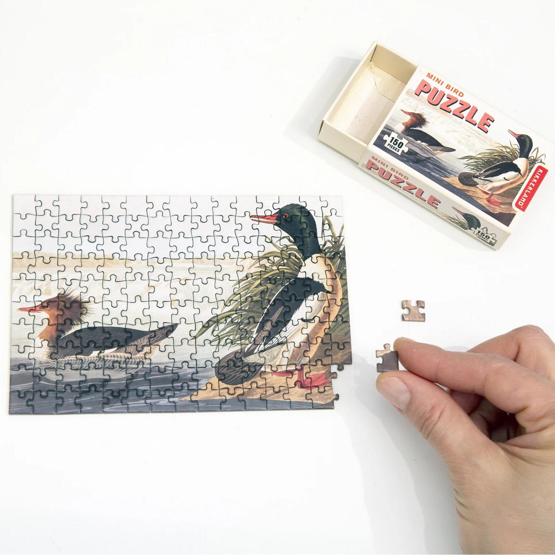 Le petit Puzzle oiseaux vintage